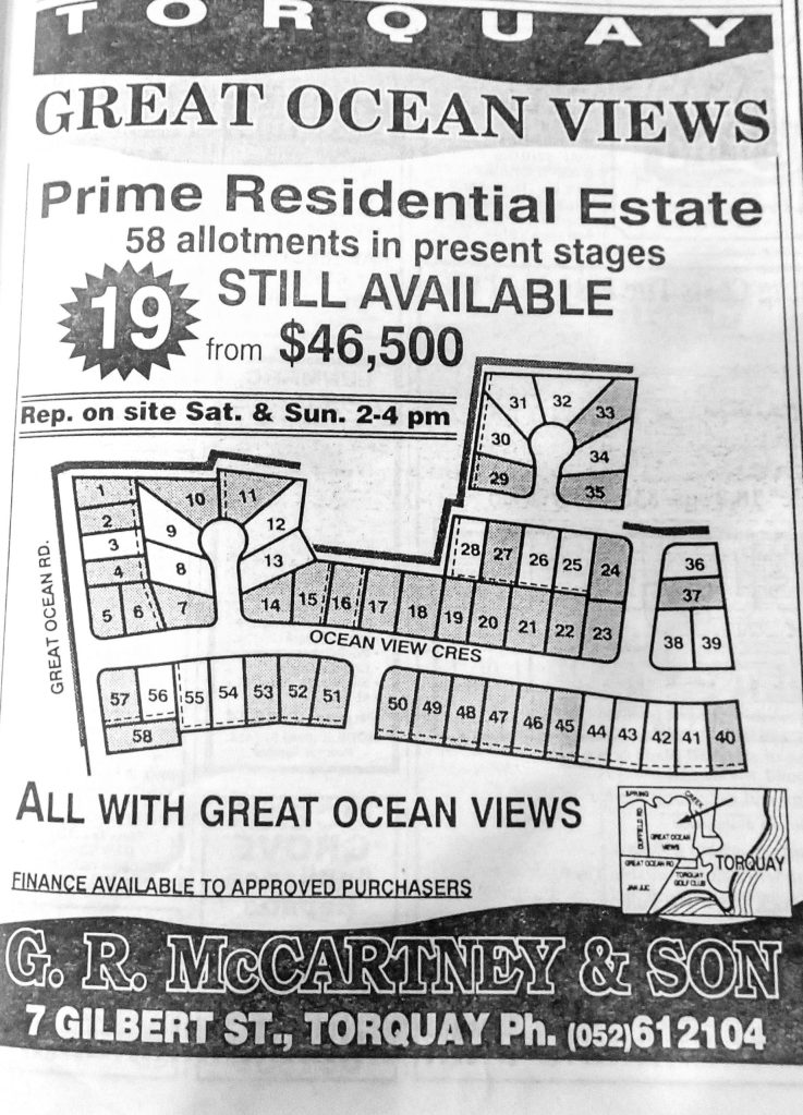 Ocean Views Estate Sales