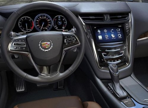 The Dash Of The 2014 Cadillac Cts Torque News