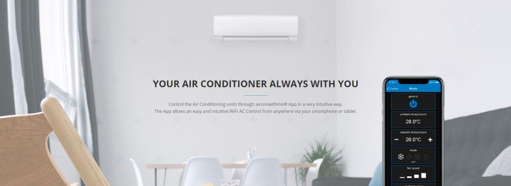 Airconwithme app