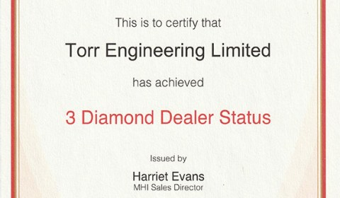 Torr Engineering - a Mitsubishi 3 Diamond Dealer