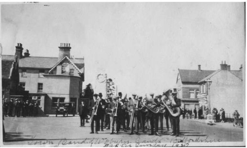 Woburn Sands Band Easter Sunday 1927