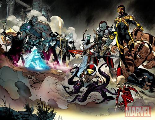 Resultado de imagem para Pepe Larraz avengers no surrender