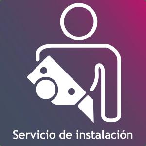 Servicio de instalación de torre móvil de aluminio