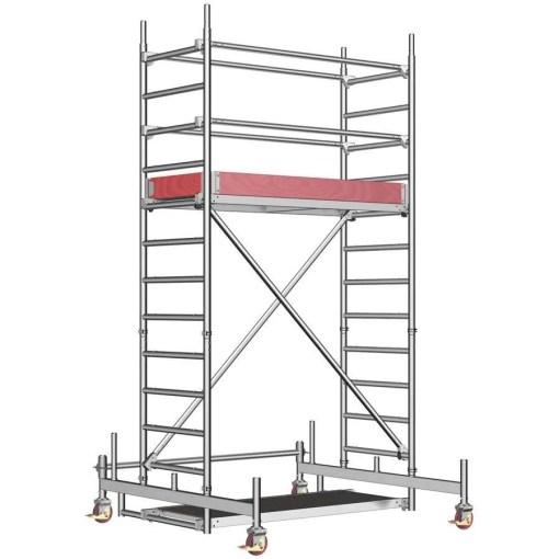 Torre móvil UniLigero de 2 metros de altura
