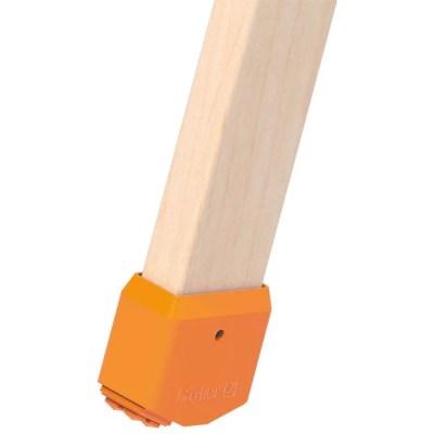 Tacos de apoyo para escalera de madera