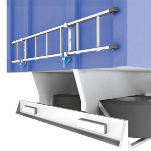 Accesorio fijación y transporte para escalera