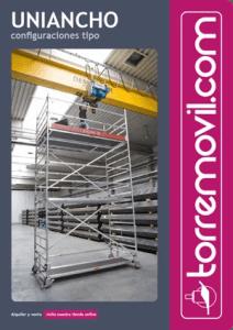 Información del modelo de andamio de aluminio UniAncho de torremovil.com