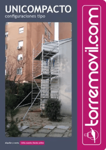 Información del modelo de andamio de aluminio UniCompacto de torremovil.com