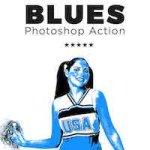 GraphicRiver – Blues Photoshop Action