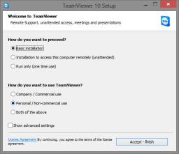TeamViewer Installer - Remote Assistance for TorrentRover