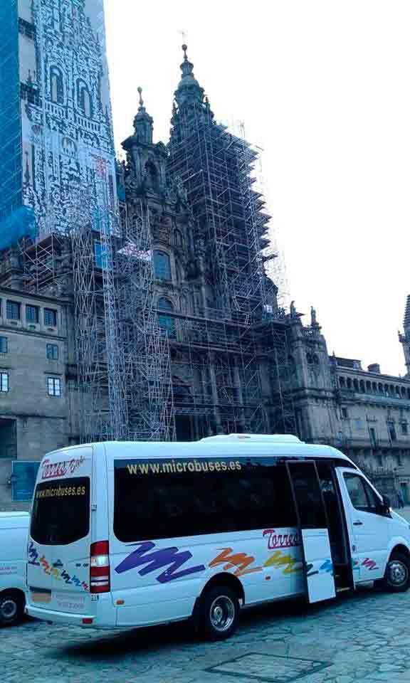 microônibus empresas de transporte Madrid
