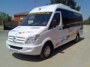alugar microônibus madrid