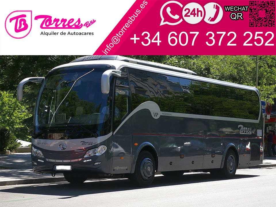alquiler de microbus madrid empresa