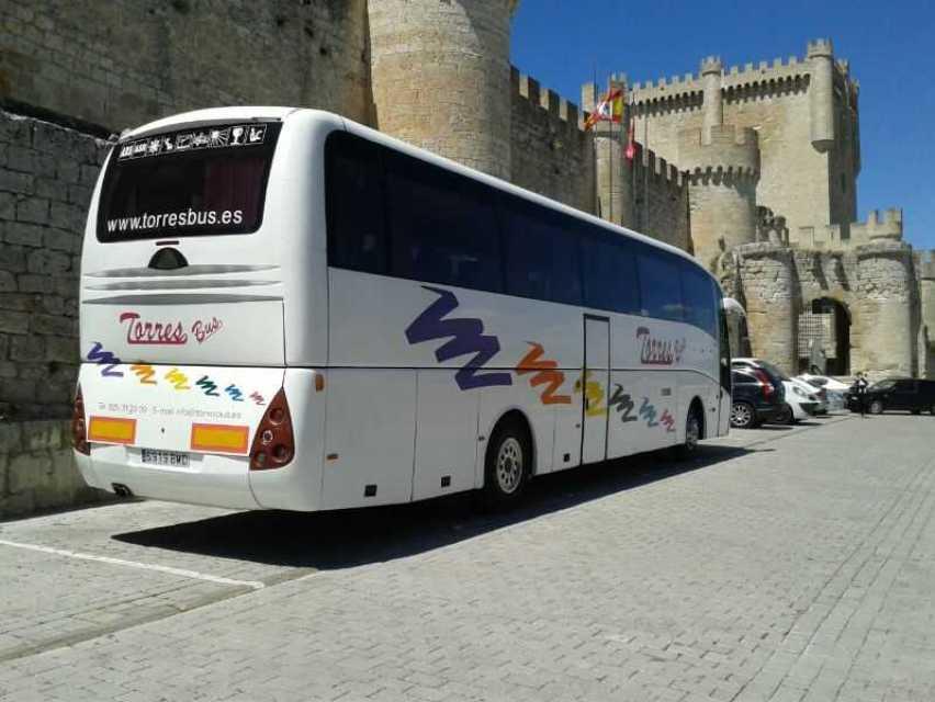 Alquiler de buses para viajes en Madrid y Toledo