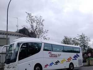 alquiler de autobus en madrid de 54 plazas para excursiones