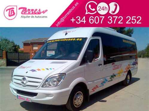 aluguer de microônibus transporte de passageiros em madrid