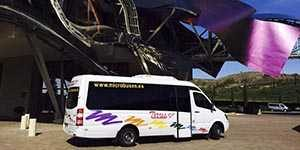 rent minibus microbus 16 squares madrid community party