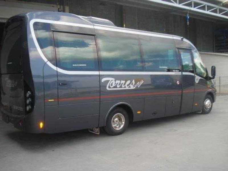 Microbuses de 12 - 16 - 24 y 30 Plazas