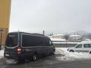 microbus madrid executive work trip