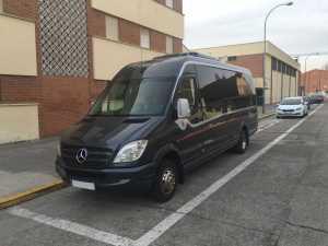 lux minibus mercedes madrid