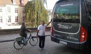 serviços de excursão transporte de viajantes