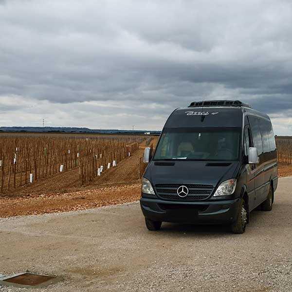 alquiler minibus ejecutivo madrid