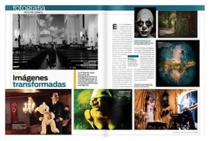 """Transformed images,"" Vanguardia Magazine, no. 305 (August 2011): 56- 57"