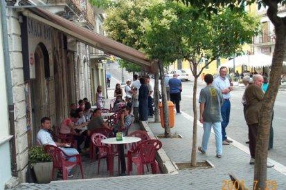 Outdoor cafe - Corso Umberto
