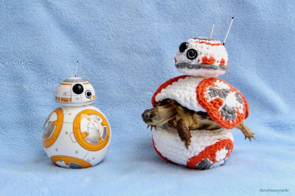 I wonder if the orange bits on Sphero BB-8 are secretly noms...