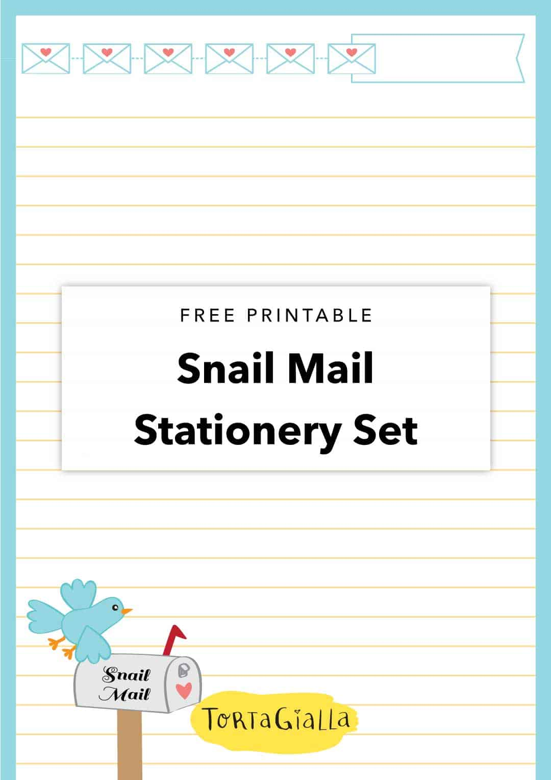 It is a photo of Hilaire Free Snail Mail