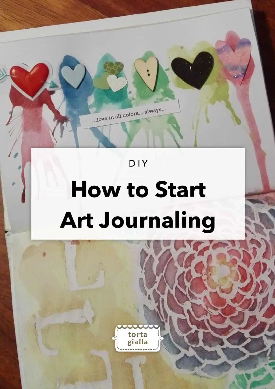 How to Start Art Journaling
