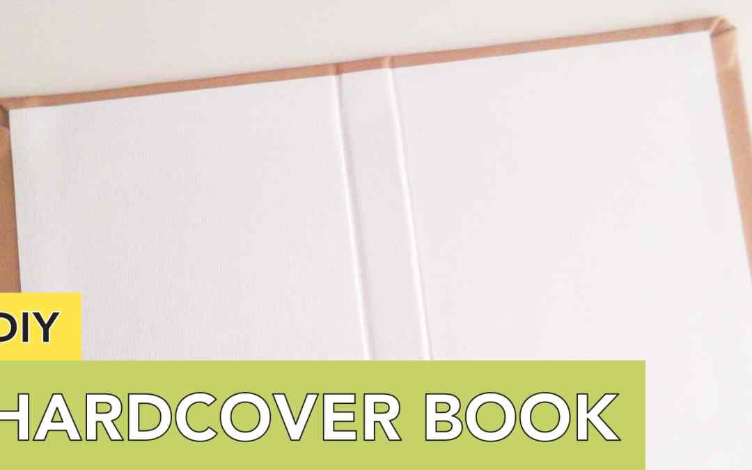 DIY Hardcover Book | For Your Journal, Planner, Album or Snail Mail