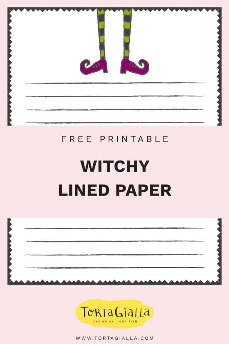 Free Printable Halloween Stationery Paper