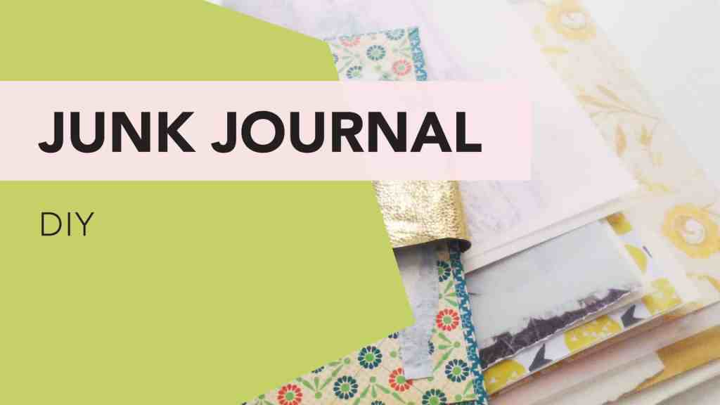 Make a Junk Journal - video of process by tortagialla.com