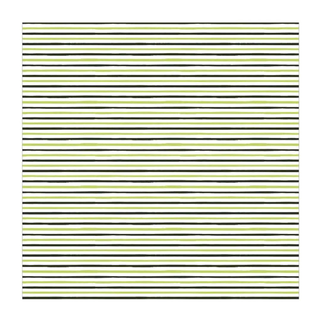 Green Stripes Printable Paper