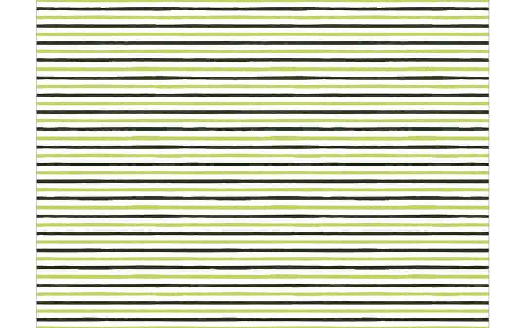 Free Printable Green Paper – Painted Stripes
