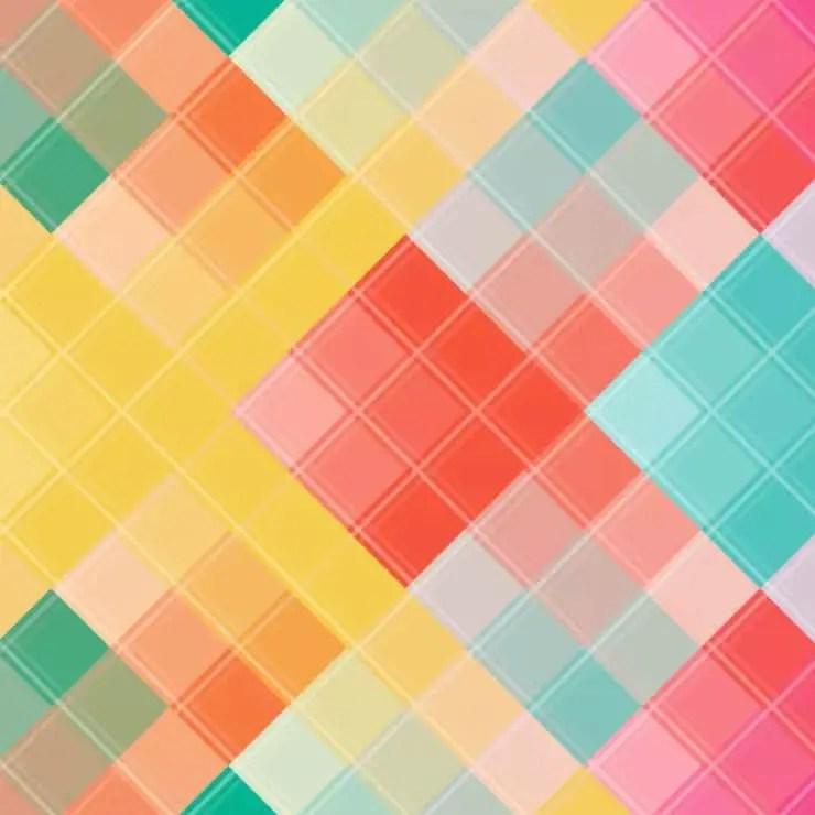 Rainbow pixel paper printable