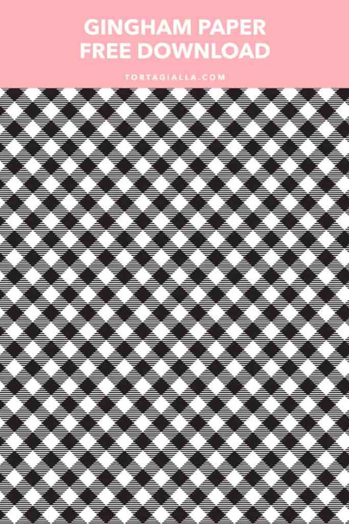 Gingham Paper - Free Download on tortagialla.com of the classic colors...