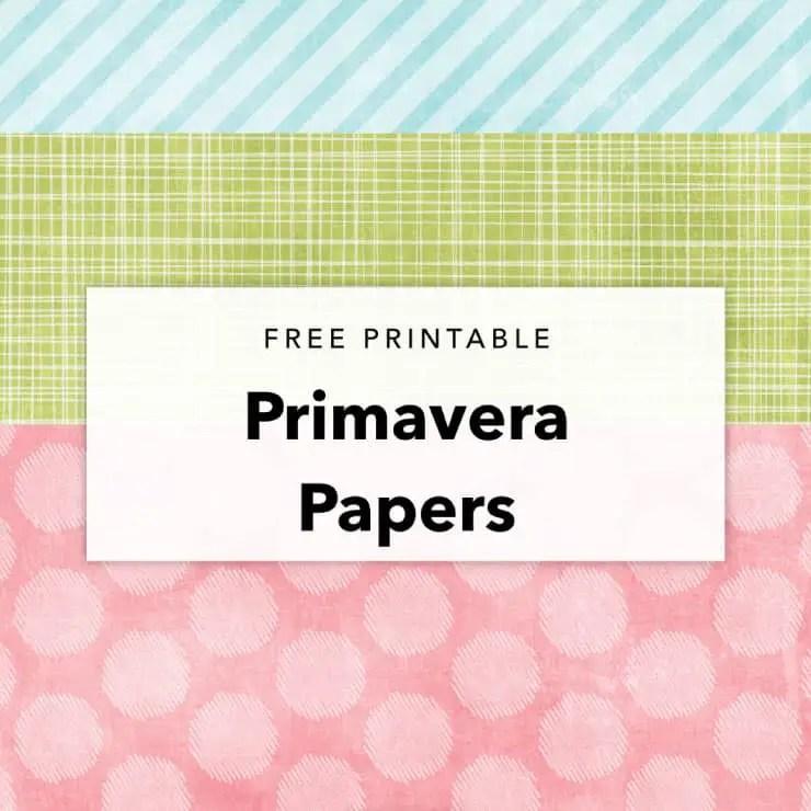 Primavera Papers