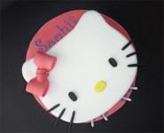 Hello Kitty head cake..again and again and again