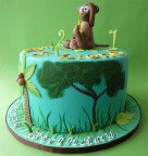 Jungle Cake for 1st & 2nd Birthday