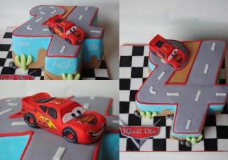 Cars Torte