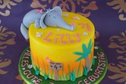 Für Lilly´s elefantastischen 4.Geburtstag