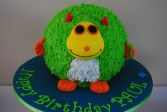 Monster 3D Torte Ganache
