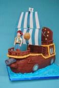 Jake und die Nimmerland Piraten Piratenschiff Backboard