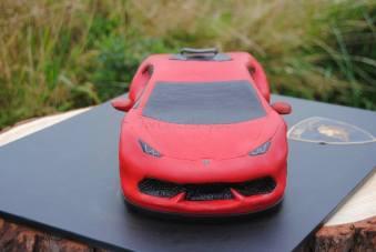 Lamborghini Huracán LP 610-4 3D Torte Kuchen vorne schürze