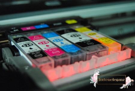Essbare Drucker Farben Detail