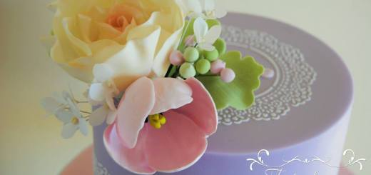 Wafer Paper Spitze Kurs Blume