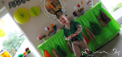 Robin Hood Torte und Candy Table Paul 4 Candy Table mit Paul