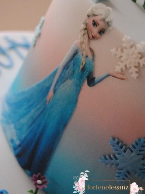 Olaf Torte die Eiskönigin Elsa